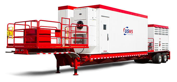 Clean Fleet Transformer Trailer